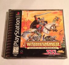 Warhammer: Shadow of the Horned Rat (Sony PlayStation 1, 1996) Complete