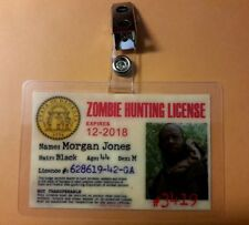 The Walking Dead ID Badge -Morgan Jones  cosplay costume prop