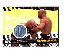 UFC Wanderlei Silva 2010 Topps Ring Mat Relic Card