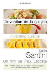 L'INVENTION DE LA CUISINE - NADIA SANTINI - PAUL LACOSTE - 2011 - DVD NEUF NEW