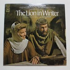 JOHN BARRY The Lion In Winter OST LP Columbia Rec OS-3250 US 1968 M 2C