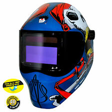 Save Phace RFP 40VizI4 Captain Jack Welding Helmet - Variable Auto-Darkening