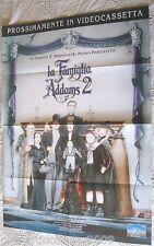 LA FAMIGLIA ADDAMS 2 Addams Family Values (1993) LOCANDINA ORIGINALE 82,5 X 58