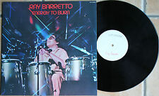 "RAY BARRETTO ""ENERGY TO BURN""   33T  LP"