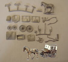 P&D Marsh OO Gauge PW26 One horse station bus kit requires painting