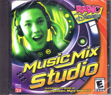 Radio Disney Music Mix Studio (PC, 2001, Disney Interactive, SEALED NEW!)