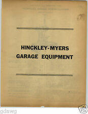 1922 PAPER AD 18 PG Hinckley Myers Ford Fordson Car Repair Garage Equipment