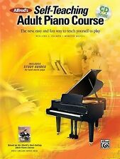 Alfred's Self-Teaching Adult Piano Course: The new, easy