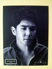 Super Junior Official Goods Photo Card  Postcard Size (Big) - Kangin / New