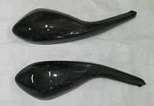 JAP4 Ducati Monster 696, 795, 796, 1100 carbon mirror covers gloss finish