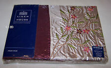 Linen House Twiggie Burgundy Single Bed Quilt Cover Set New *Clearance*