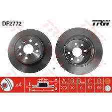 Disque de frein, 1 unités trw df2772