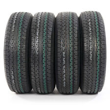 NEW 4 ST225/75-15 OSHION 10 Ply E Load Radial Trailer Tires 2257515 22575R15