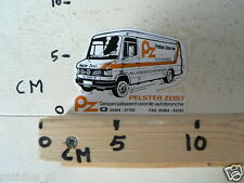 STICKER,DECAL PELSTAR ZEIST BV STICKERS MERCEDES-BENZ VAN