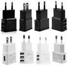 2A 5V 1/2/3-Port USB Wall Adapter Charger US/EU Plug For Samsung S4 5 6 iPhone G