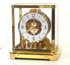 AWESOME 1960's JAEGER LECOULTRE 528 ATMOS CLOCK #146,000 SWISS SERVICED WORKING