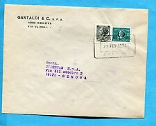 SIRACUSANA - 1971 £.5 USATO COME RECAPITO AUTORIZZATO + REC.AUT.£.30    (210372)