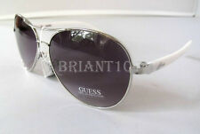 NWT GUESS GUF235 Womens Sunglasses Silver/Purple $68