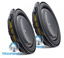 "2 JL AUDIO 13TW5v2-4 OHM 13.5"" NEW VERSION 2 SUBS THIN SHALLOW SUB-WOOFERS NEW"
