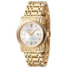 Burberry Watch Women's Swiss Goldtone Stainless Steel Bracelet 28mm  BU1394