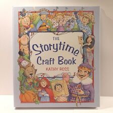 The Storytime Craft Book by Kathy Ross - Hardcover Book of Story Ideas & Crafts