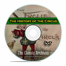 The History of the Circus, Ringling Brothers Barnum Bailey, Posters, PDF DVD E65