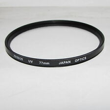 Used Zeikos Optics UV 77mm Lens Filter Made in Japan for 10-20mm 12-24mm wide