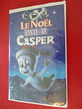 VHS French Movie Le Noël Hanté de Casper ! Harvey Home Entertainment