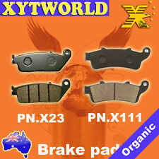 FRONT REAR Brake Pads for Honda FJS 600 Silverwing 2001-2009