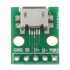 MICRO USB to DIP Adapter 5pin Female Connector B Type PCB Converter CC