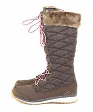 Salomon Womens Hime High Winter Wear Boot Absolute Brown Size 10 US