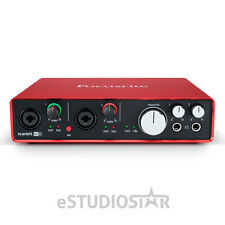Focusrite Scarlett 6i6  2nd Gen 6 In/6 Out USB 2.0 Audio Interface w/ 2 Mic Prea