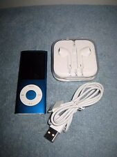 iPod Nano 4th Generation BLUE  8GB