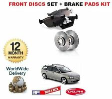 FOR Volvo V50 2.0D 2.4 D3 D4 2004- ON FRONT BRAKE DISCS AND DISC PADS SET KIT