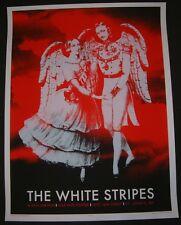 Rob Jones The White Stripes Art Poster Print Jack White St. Johns Canada Mondo