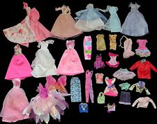 Great Lot x31 Pieces AUTHENTIC BARBIE Doll Clothes, Some Vintage, Gorgeous Gowns