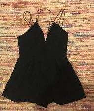 New! Ladies Urban Outfitters Black Play suit