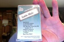 Singing Machine karaoke- HIts of Latin Male- new/sealed cassette tape