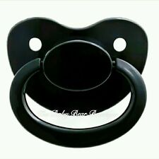 BLACK adult pacifier dummy NUK 6 LIMITED DDLG ABDL PREORDER