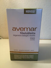 AVEMAR Film Coated Tablets 150 capsules 1 bottle AWGE Fermented Wheat Extract