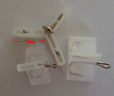 100 pcs Fishing Treble Hooks Safety Covers Bonnets safety Caps Protector New