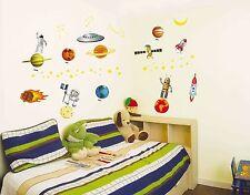 Astronaut Outer Space Modern Designer Wall Sticker Decal Home Art Mural Decor