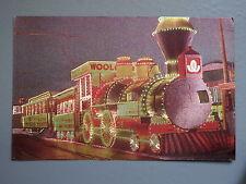 R&L Postcard: Illuminated Float Steam Train Engine Blackpool