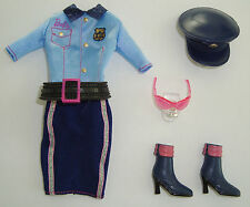 BARBIE Clothes/Fashion Police Outfit Adorable! NEW!