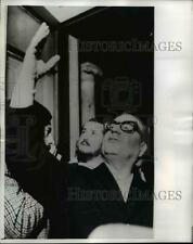 1970 Press Photo Salvador Allende 1st Marxist President in Santiago Chile