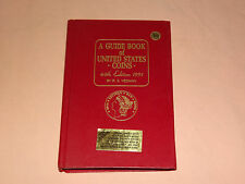 VINTAGE 1991 44TH ED ITION R S YEOMAN HANDBOOK OF UNITED STATES COINS RED BOOK