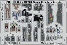 Eduard 1/48 Dassault Super Etendard Interior Part I for Kinetic # FE776