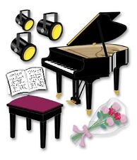 Jolee's Boutique Stickers - Piano Recital #889