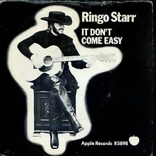 7inch RINGO STARR it don't come easy UK EX +PS 1971