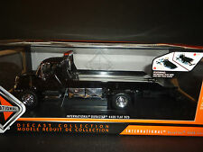 Jada Durastar International 4400 Flatbed Tow Truck Black 1/24